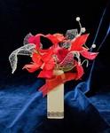 クリスマス用花かご ポインセチア赤 .jpg